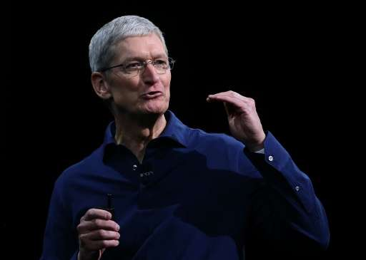 Apple chief Tim Cook had dismissed accusations that the company was sidestepping US taxes by stashing cash overseas and said: &q