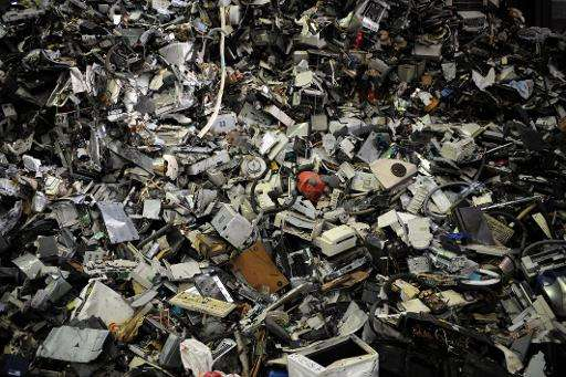 A record amount of electrical and electronic waste hit the rubbish tips in 2014, with the biggest per-capita tallies in countrie