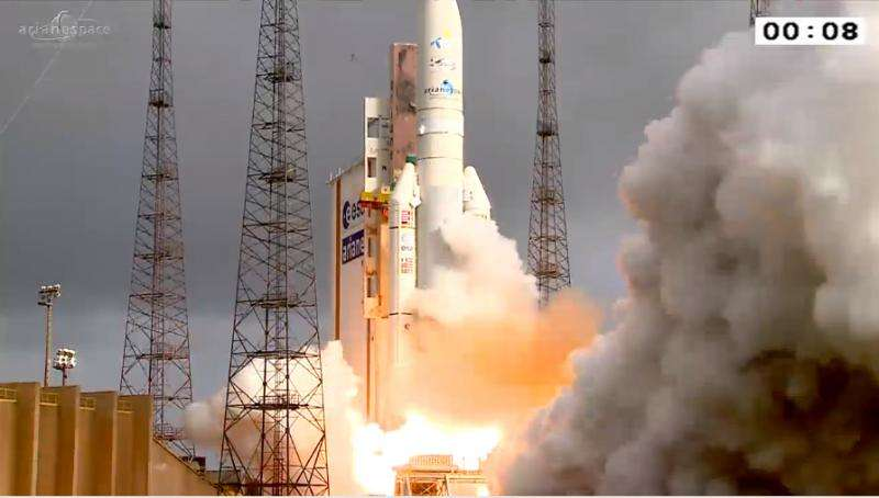 Ariane 5's first launch of 2015