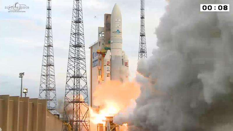 Ariane 5's fourth launch of 2015