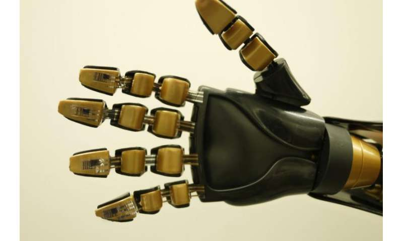 Artificial 'skin' could provide prosthetics with sensation