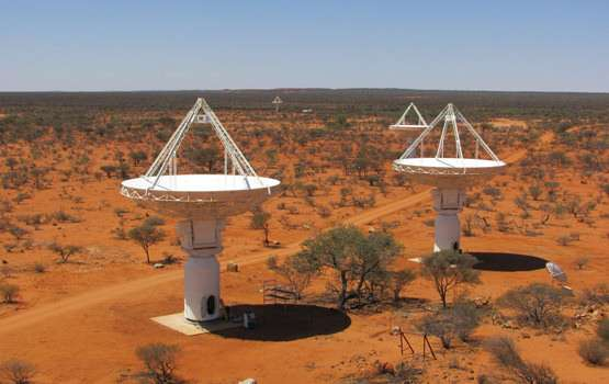 ASKAP seeks out hydrogen content in distant galaxies