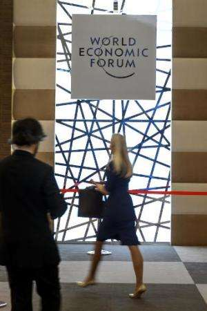 As the world's political and business movers-and-shakers opened their annual meeting in the Swiss ski resort of Davos, one of th