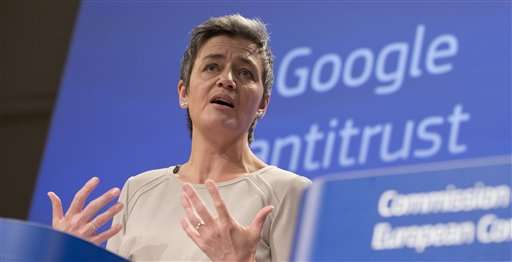 At a glance: What the EU says Google is doing wrong