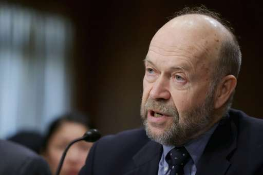 Atmospheric physicist and Columbia University Earth Institute adjunct professor James Hansen testifies before the Senate Foreign