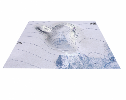 Atmospheric warming heats the bottom of ice sheets, as well as the top