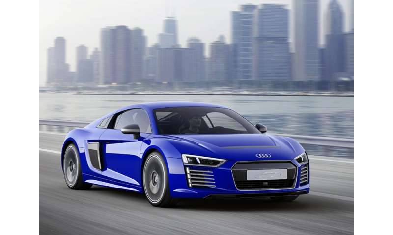 Audi R8 e-tron aims for high performance and self-driving tech