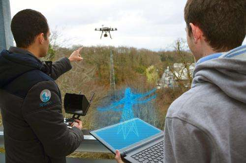 Augmented reality for drones