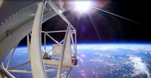 Ballooning offers platform for performing research in a space-like environment