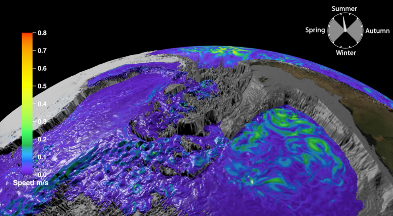 Big data reveals glorious animation of Antarctic bottom water
