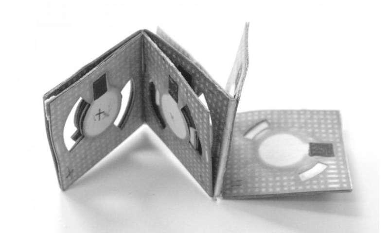 Binghamton engineer creates origami battery