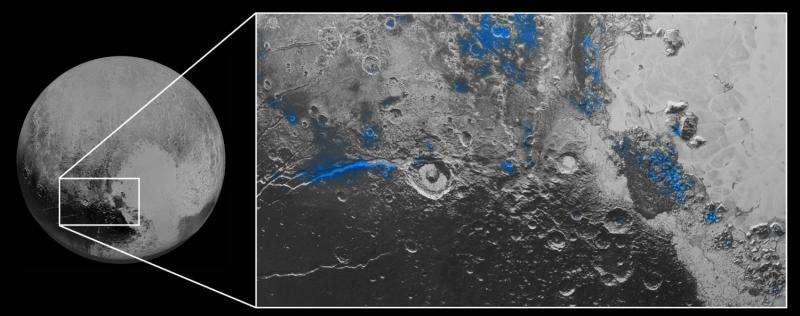 Blue sky and red ice at Pluto, NASA spacecraft discovers