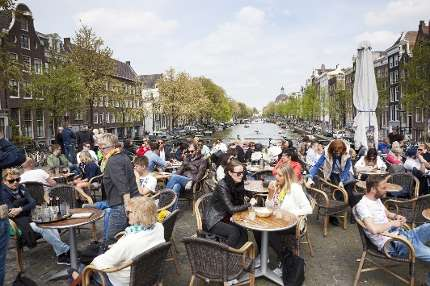 Brain turns down volume of background noise in a busy cafe