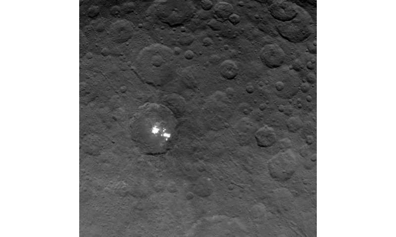 Bright spots shine in newest Dawn Ceres images