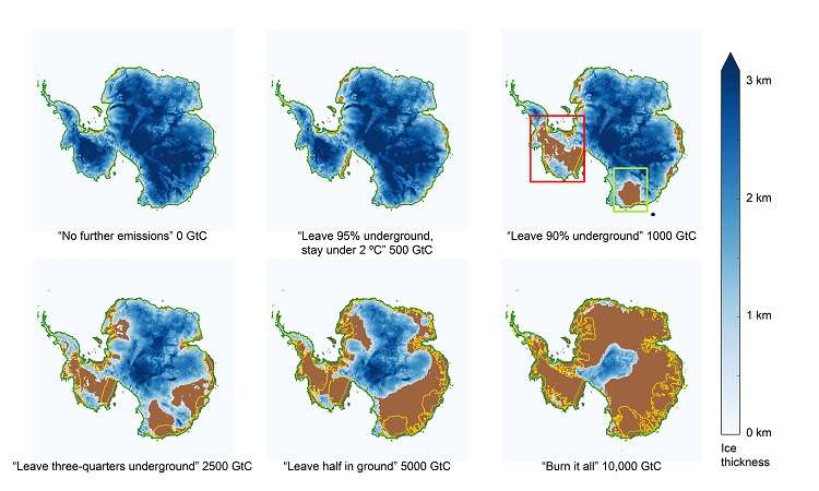 Burning remaining fossil fuel could cause 60-meter sea level