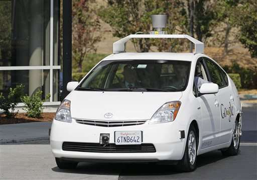 California reveals details of self-driving car accidents