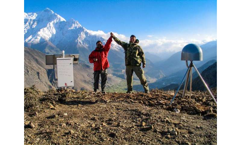 Caltech-led team looks in detail at the April 2015 earthquake in Nepal