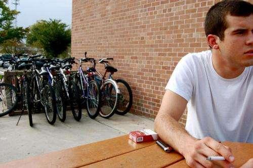 Campus debit cards let students buy cigarettes with parents' money