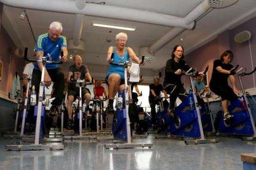 Can exercise training prevent premature death in elderly?