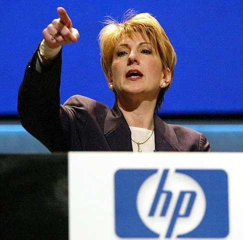 Carly Fiorina was named CEO of Hewlett-Packard in 1999, becoming the first woman to head a Fortune 50 company