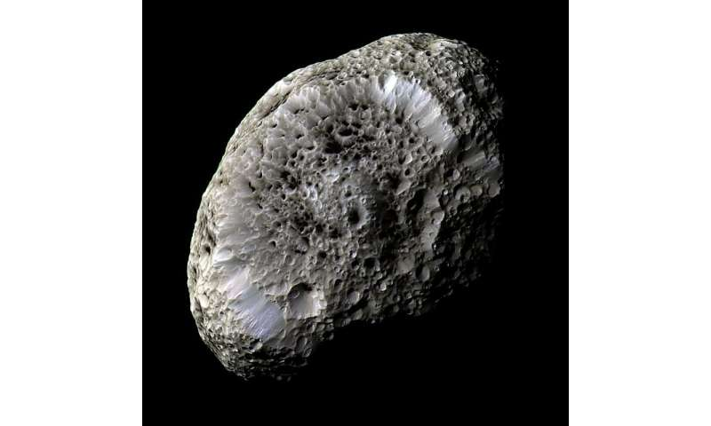 Cassini prepares for last up-close look at Hyperion