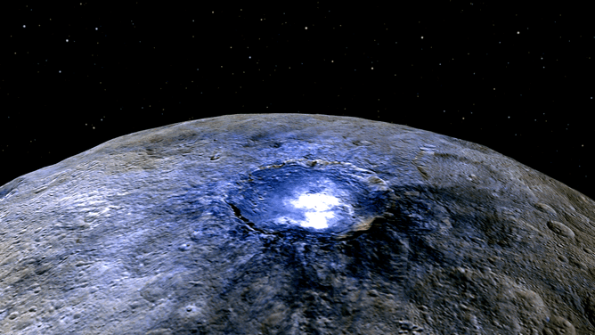 Ceres reveals its salty secrets – and blurs the line between comets and asteroids