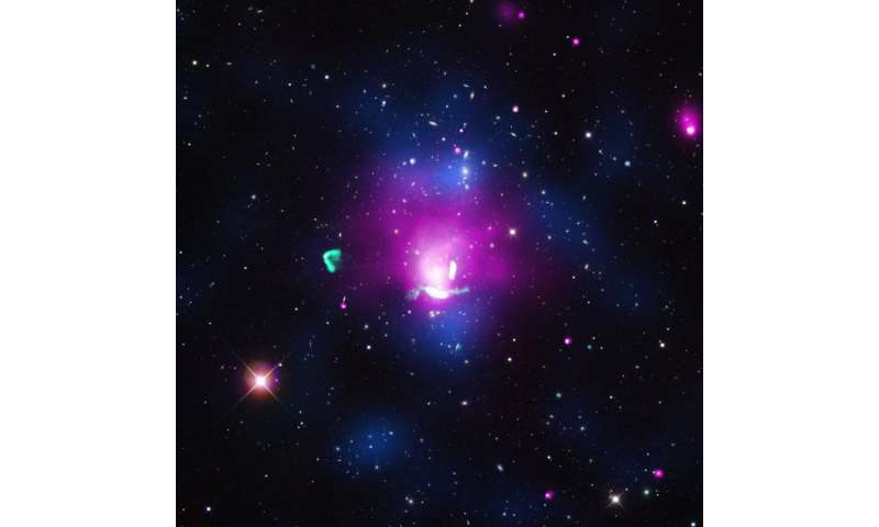 "Chandra data suggest giant collision triggered ""radio phoenix"""
