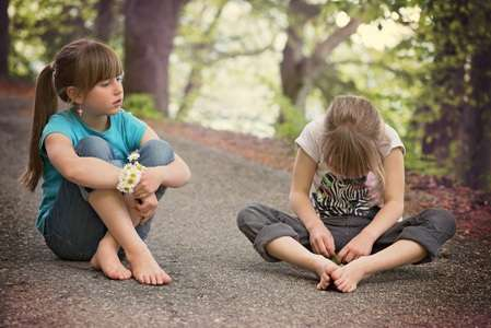 Children in particular more forgiving of friends