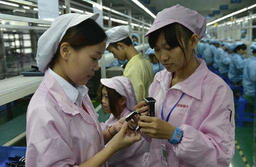 China's e-watch producers are concentrated in the southern province of Guangdong