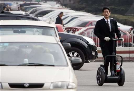 China's Ninebot buys US personal scooter maker Segway