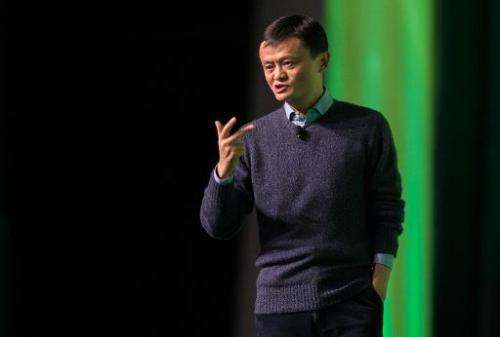 Chinese billionaire and Alibaba founder Jack Ma speaks during a forum in Hong Kong, February 2, 2015