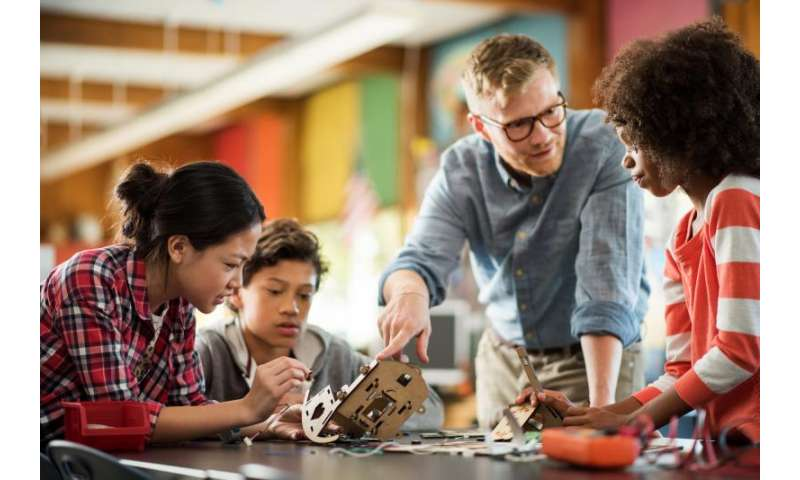 Classroom tech plugs kids into maker movement