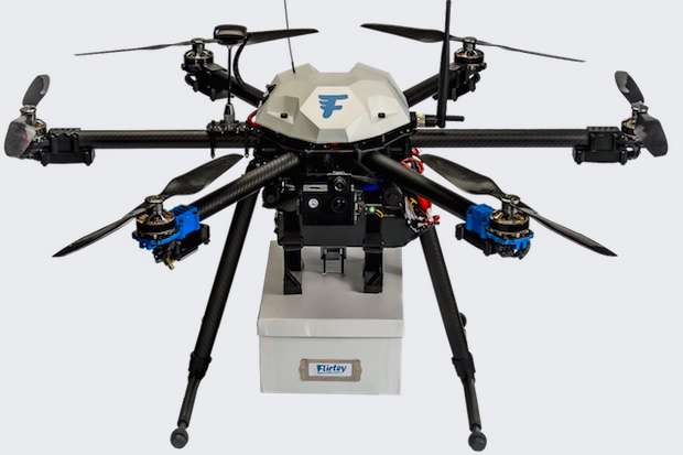 Clinic gets approved medical supply drop by drone in Virginia