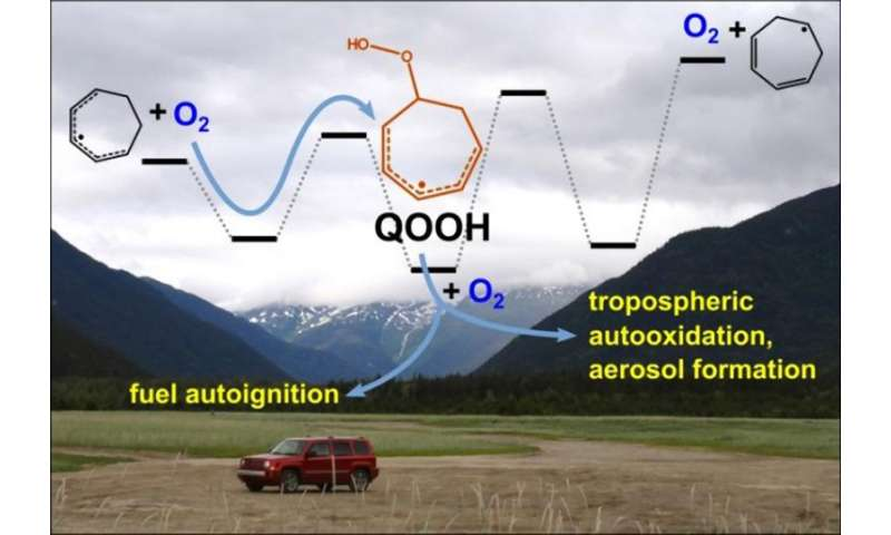 """Combustion's mysterious """"QOOH"""" radicals exposed"""