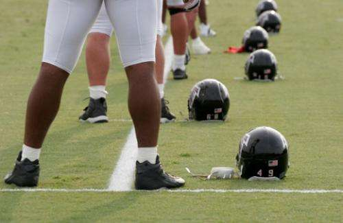 Common risk factor for heart disease may be more prevalent among football players, study shows