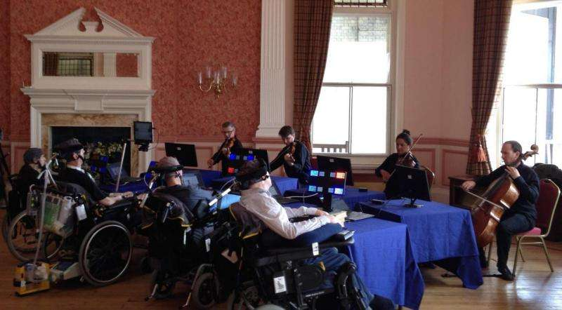 Computer interface helps disabled patients set tone of musical performance