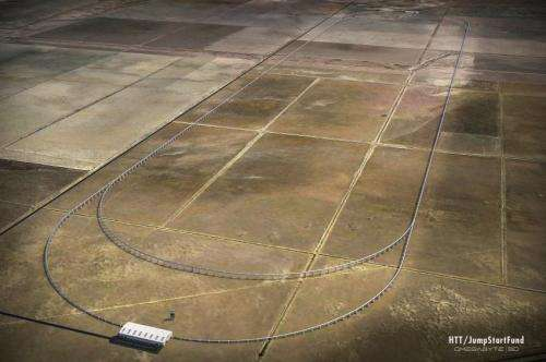Construction begins 2016 for Hyperloop on five-mile stretch