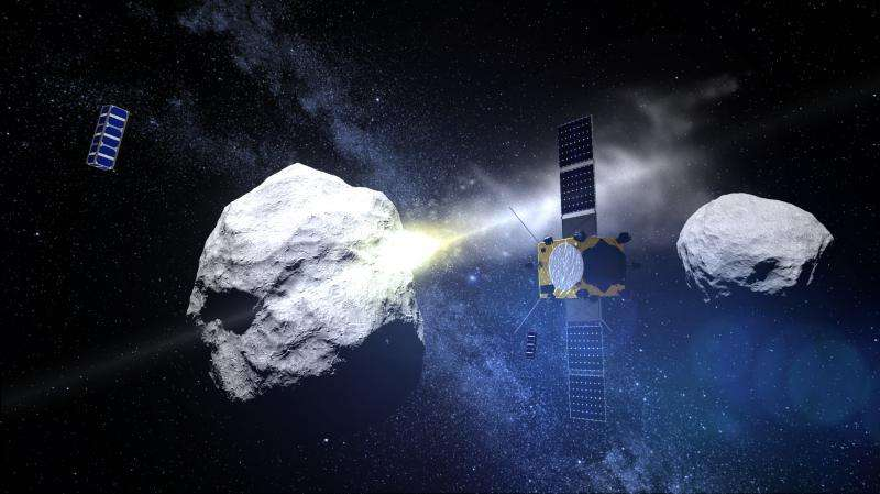 CubeSats to an asteroid