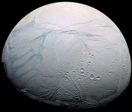 CU-Boulder-led study shows Saturn moon's ocean may have hydrothermal activity
