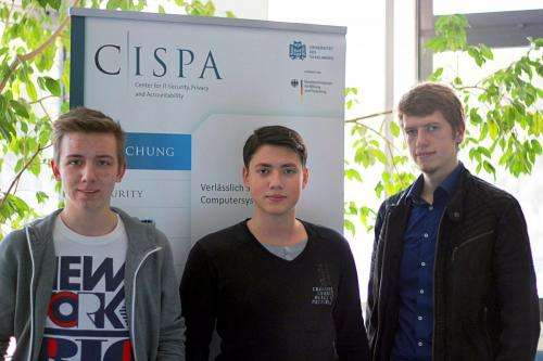 Cybersecurity students from Saarland University discover security gaps in 39,890 online databases
