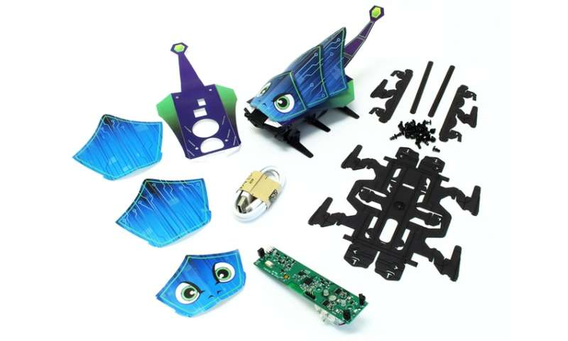 Dash Robotics: Origami-style robots for build-and-play fun
