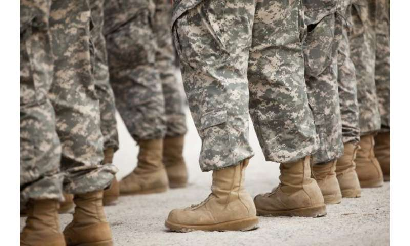 Data released on soldiers' mental health risk, resilience