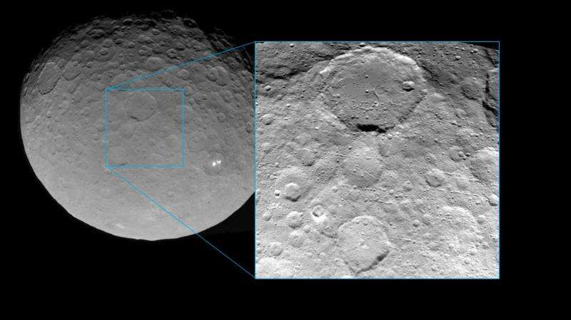 Dawn spirals closer to Ceres, returns a new view