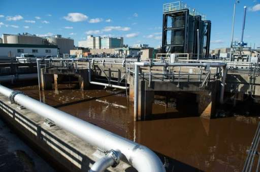 DC Water's Blue Plains plant treats 1,400 million liters of dirty water from more than two million households on a daily basis