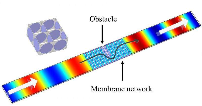 Density-near-zero acoustical metamaterial made in China