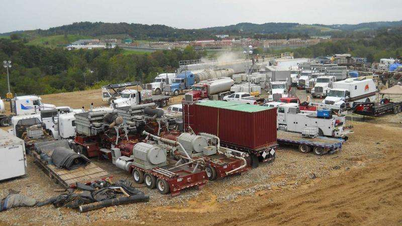 Dirty pipeline: Methane from fracking sites can flow to abandoned wells, new study shows