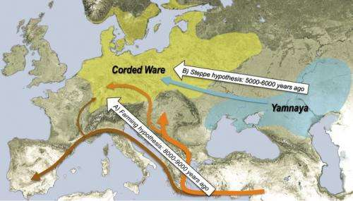 DNA reveals the origins of modern Europeans on dna map of east asia, viking expansion in europe, autosomal dna europe, fortress europe, jewish dna map of europe, northwest europe, mtdna europe, dna map of the world, ethnic groups in europe, haplogroup map europe, ethnic map europe, migration to europe, celtic dna in europe, i1 dna oldest in europe, slavic europe, migration in europe, dna of ashkenazi jews, east and west europe, early migration europe, asian dna in europe,
