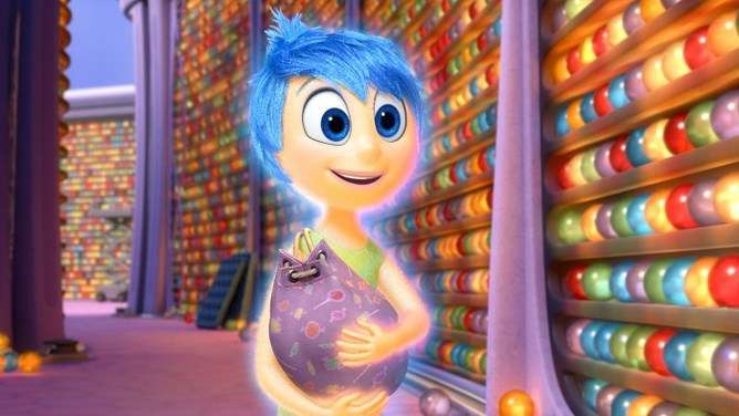 Does Pixar's Inside Out show how memory actually works?