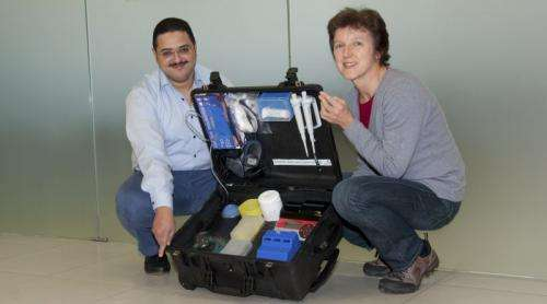 DPZ-Researchers develop suitcase laboratory for rapid detection of the Ebola virus