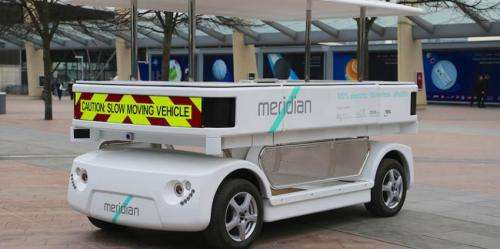 Driverless shuttle will be on the move in UK